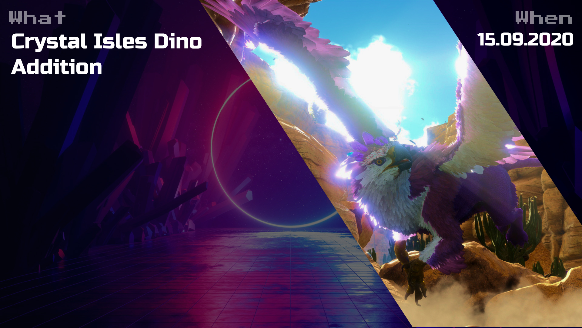 ARK: Crystal Isles Dino Addition Mod